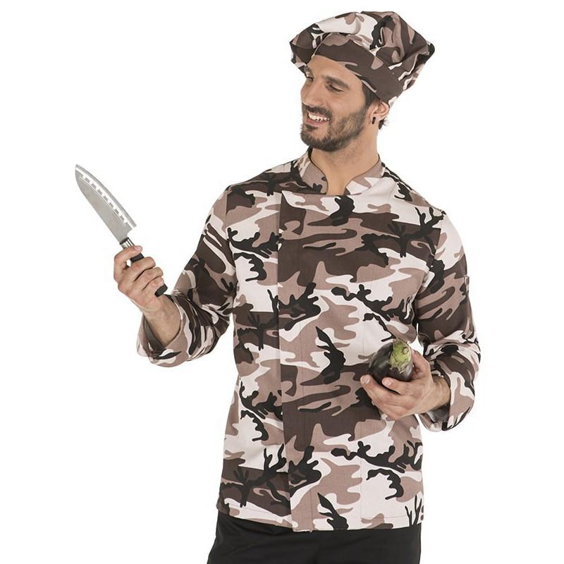 Chaqueta de cocina camuflaje 9455