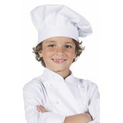 Gorro cocina infantil blanco