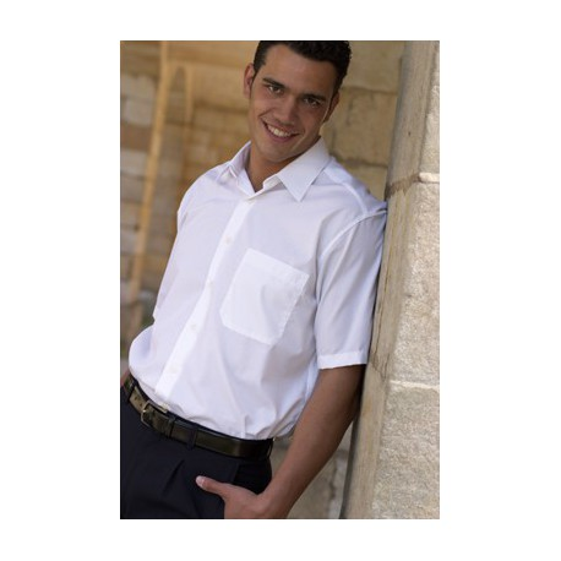 Camisa caballero clásica blanca 3670