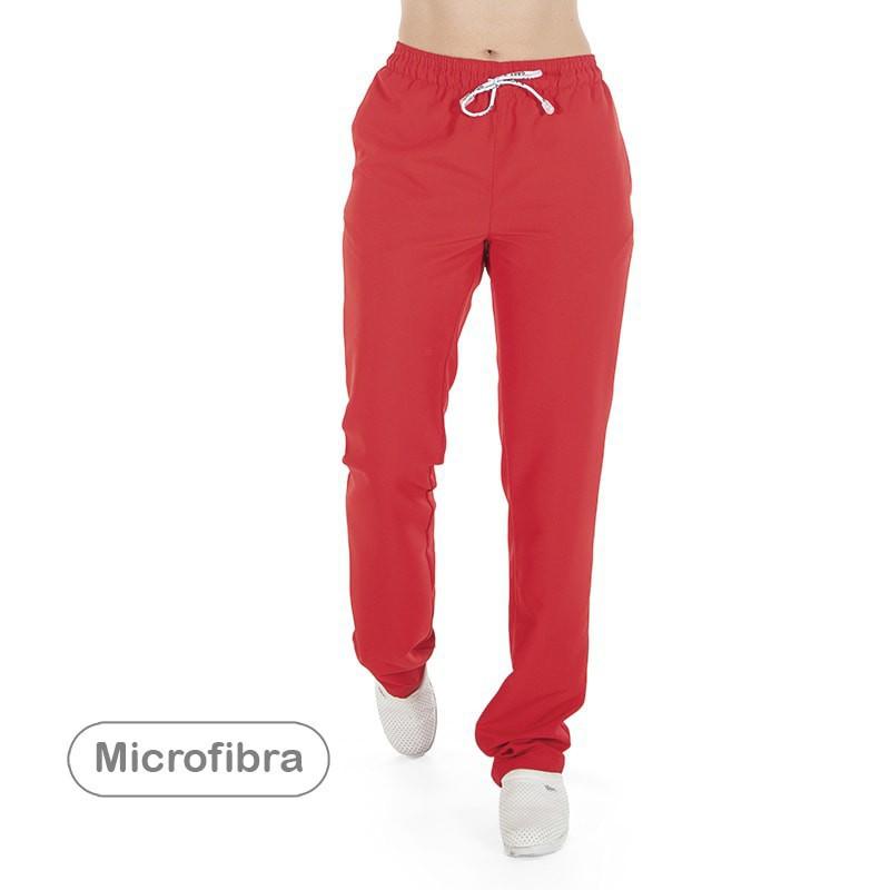 Pantalón unisex goma y cordón microfibra