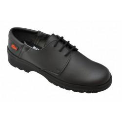 Zapato antideslizante cordones