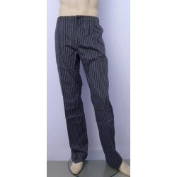 f690daa3b3d Pantalón de cocina rayas gris y negro 770 Tallas 36 Color Gris-Negro
