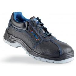 Zapato piel negra S3 Metal Free