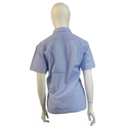 Camisa de mujer azul celeste