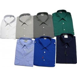 Camisa caballero con charretas