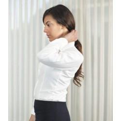 Camisa mujer entallada  manga larga