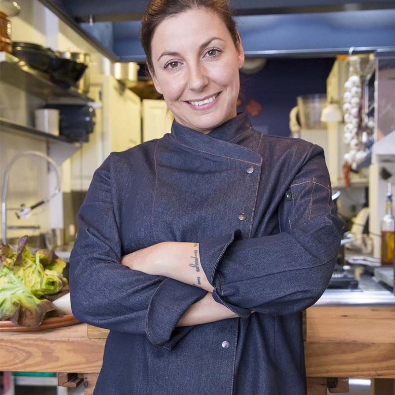 Chaquetilla de cocina mujer Niza West