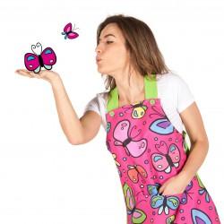 Pichi colegial mariposas
