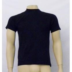 Camiseta lisa manga corta