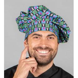 Gorro seta gran chef velcro...